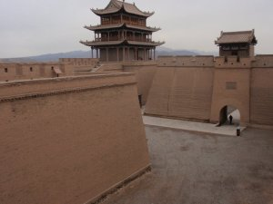 Jiayguan Fort, Gansu Province.